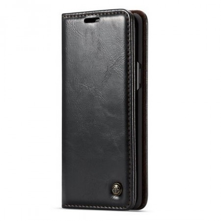 CaseMe flip deksel for iPhone XR svart