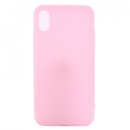 Lux TPU Deksel for iPhone X/XS rosa