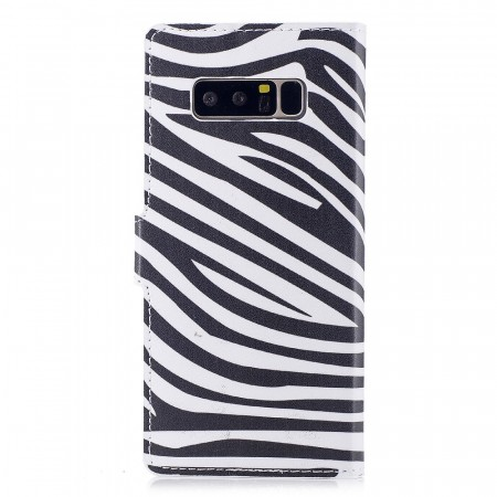 Deksel for Samsung Galaxy Note 8 - zebra mønster