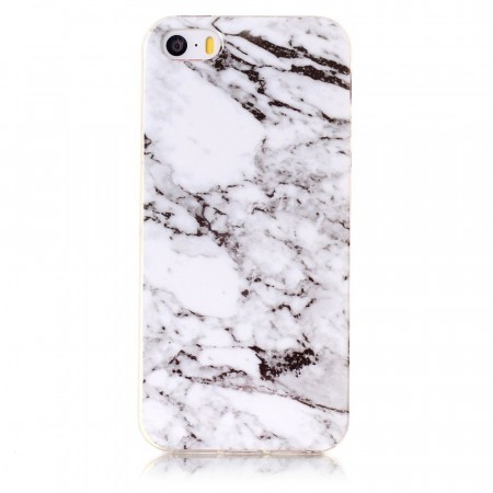 TPU Deksel for iPhone 5S/5/SE (2016) - Marmor