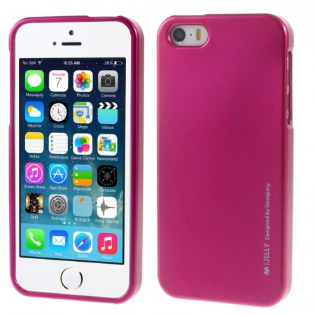 Mercury Goospery TPU Deksel for iPhone 5S/5/SE (2016) rosa