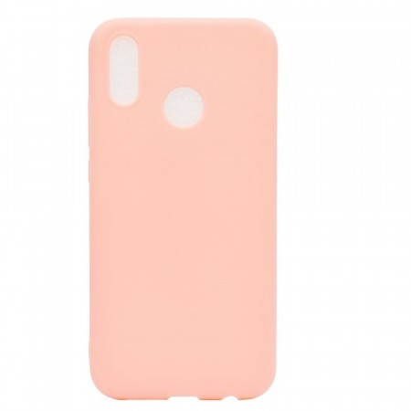 TPU Deksel Frosted til Huawei P20 Lite lys rosa