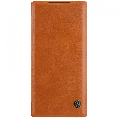 Nillkin flip deksel for Samsung Galaxy Note10+ Plus brun