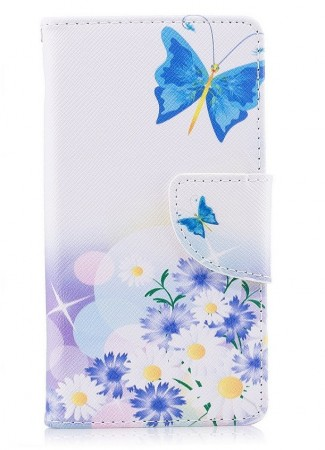 Deksel til Sony Xperia XZ1 Compact - Blue Butterfly