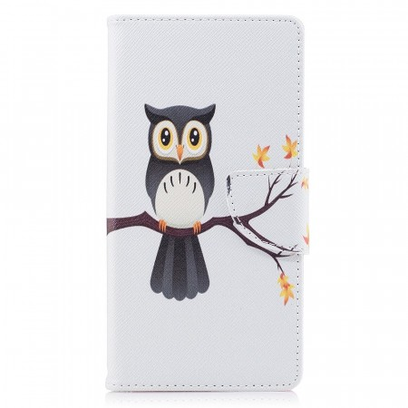 Deksel for Sony Xperia XZ1 - Owl