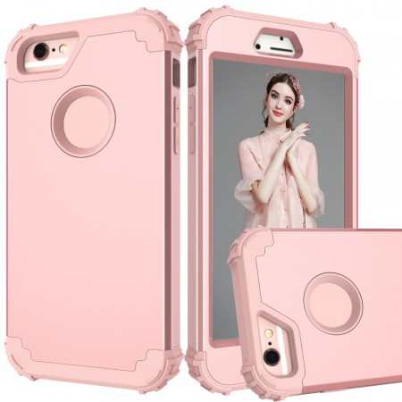 Armor TPU Deksel for iPhone 6/6S rosa
