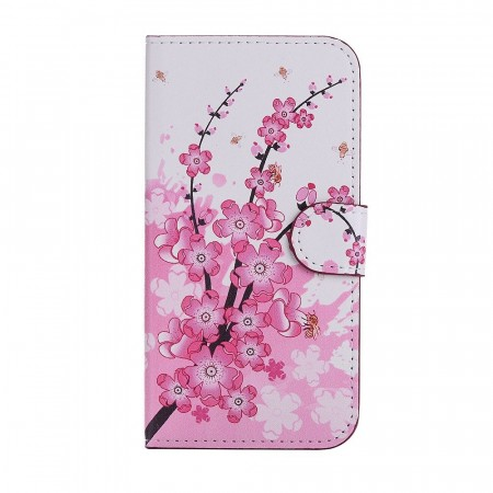 Deksel til iPhone X/XS - Peach Blossom