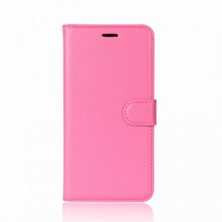 Lommebok deksel for Nokia 7 Plus rosa
