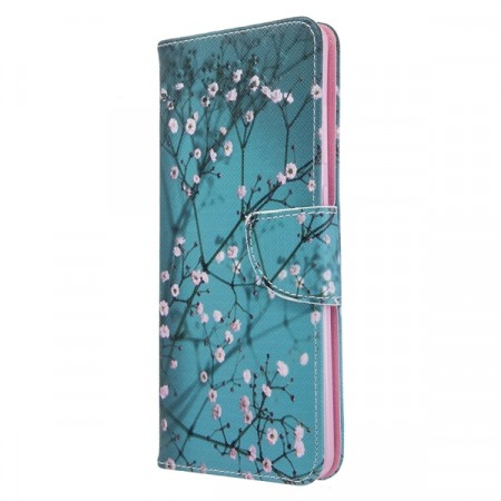 Deksel for Galaxy S20 Ultra - Rosa blomster