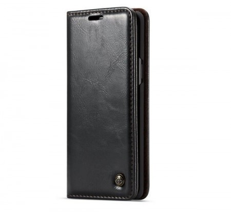 CaseMe flip deksel for Samsung Galaxy S9 Plus svart