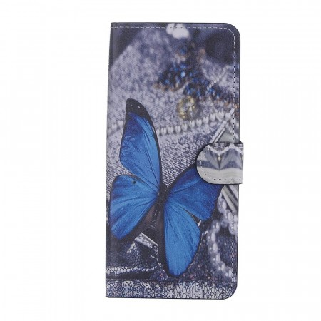 Deksel for Samsung Galaxy Note 8 - Blue Butterfly