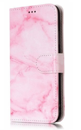 Deksel for iPhone X/XS rosa marmor