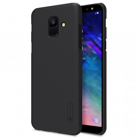 Nillkin Super Frosted Shield Deksel Galaxy A6 (2018) svart