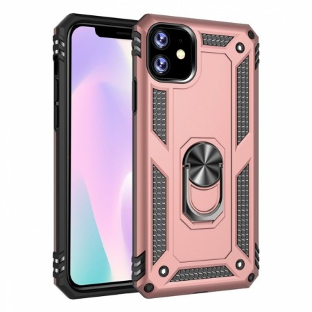 iPhone 11 Pro Ring Armor - Rosa