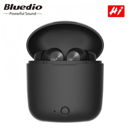 Bluedio In-Ear Wireless Stereo Hodetelefoner Bluetooth 5.0 - Svart