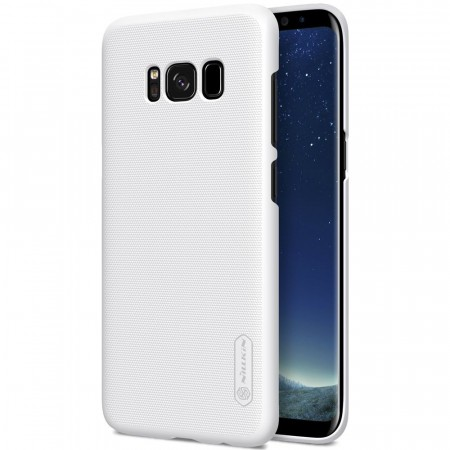 Nillkin Super Frosted Shield Deksel Galaxy S8 hvit