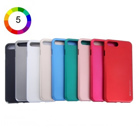Mercury Goospery TPU Deksel for iPhone 7/8 flere farger