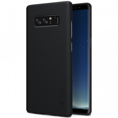 Nillkin Super Frosted Shield Deksel Galaxy Note 8 svart