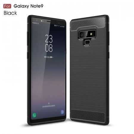 TPU Deksel Carbon for Galaxy Note 9 svart