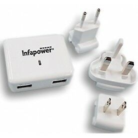 Infapower Reiselader EU/USA/UK