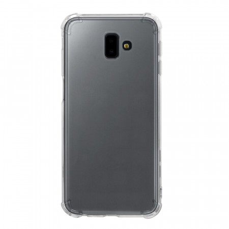 TPU Anti-Scratch Deksel for Galaxy J6 plus (2018) Gjennomsiktig