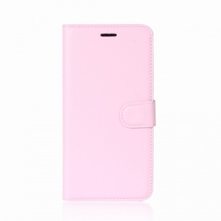 Lommebok deksel for iPhone X/XS lys rosa