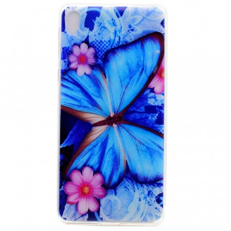 TPU Deksel for Sony Xperia X  - Butterfly