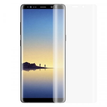 Lux Anti-Scratch herdet Glass skjermbeskytter heldekkende Buet Galaxy Note 8