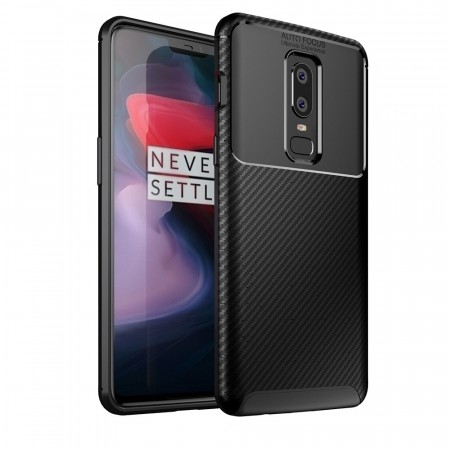 Beatles TPU Deksel for OnePlus 6 svart