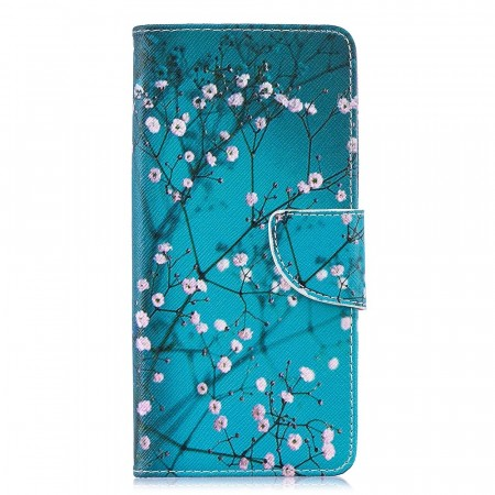 Deksel for Galaxy S10 Plus - Rosa blomster