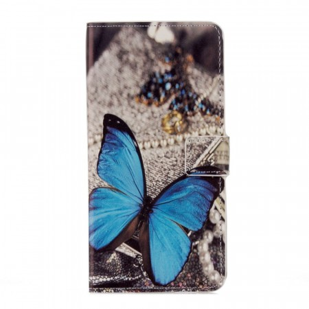 Deksel til Huawei Honor 10 - blue Butterfly