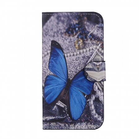 Deksel til iPhone X/XS - Blue Butterfly