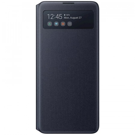 Samsung Galaxy Note10 Lite S View Wallet Cover - Svart