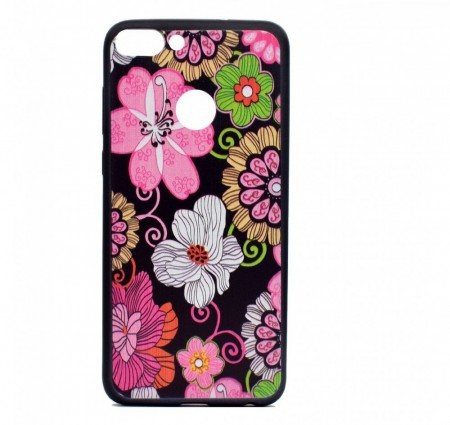 TPU Deksel for Huawei P Smart (2018) - blomster