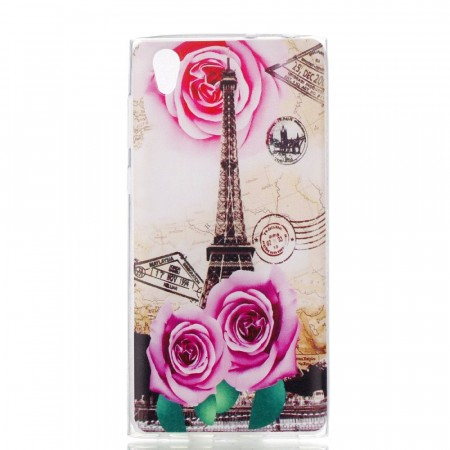 TPU Deksel Sony Xperia L1 - Rose Tower