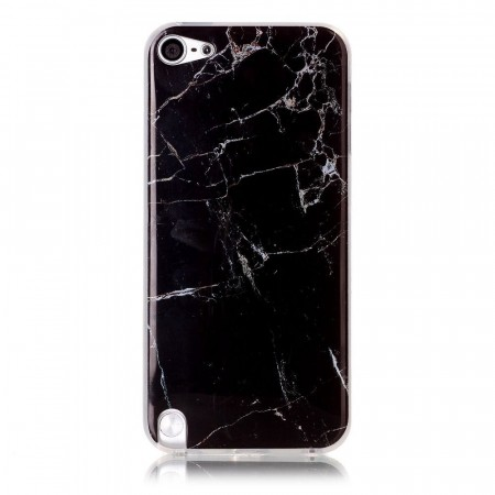 TPU Deksel for iPod Touch 6/5 - Marmor svart