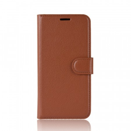 Lommebok deksel for Samsung Galaxy Note 10+ brun