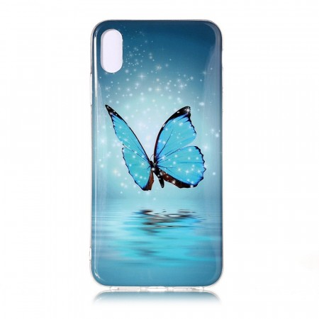 TPU Deksel iPhone XS Max - Butterfly