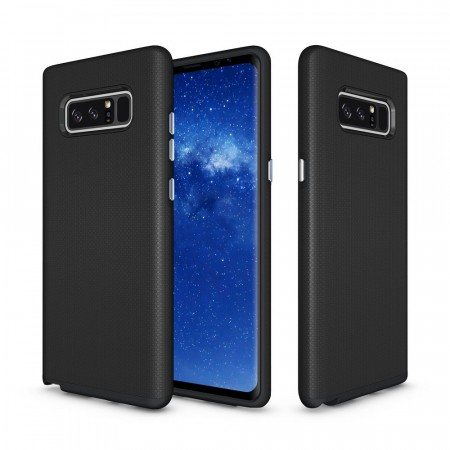 Lux TPU deksel for Samsung Galaxy Note 8 svart