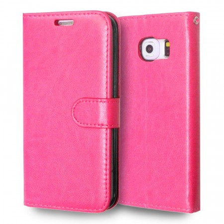 Deksel for Samsung Galaxy S6 Edge rosa