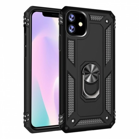 iPhone 11 Pro Ring Armor - Svart