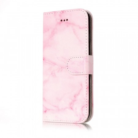 Deksel for iPhone 6 / 6S rosa marmor