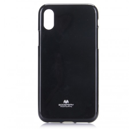 Mercury Goospery TPU Deksel for iPhone X/XS svart