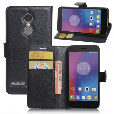 Deksel for Lenovo K6 svart