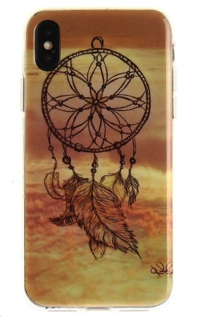 TPU Deksel for iPhone X/XS - Dream Catcher