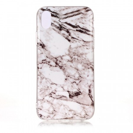 TPU Deksel for iPhone XS Max - Marmor