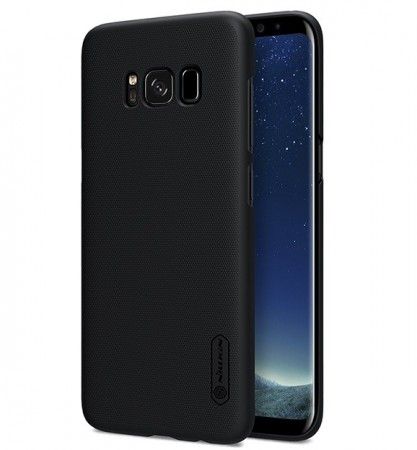 Nillkin Super Frosted Shield Deksel Galaxy S8 svart