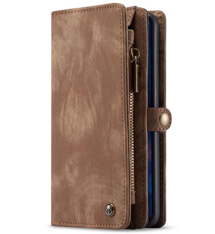 CaseMe 2-i-1 Lommebok deksel Huawei Mate 20 Pro brun